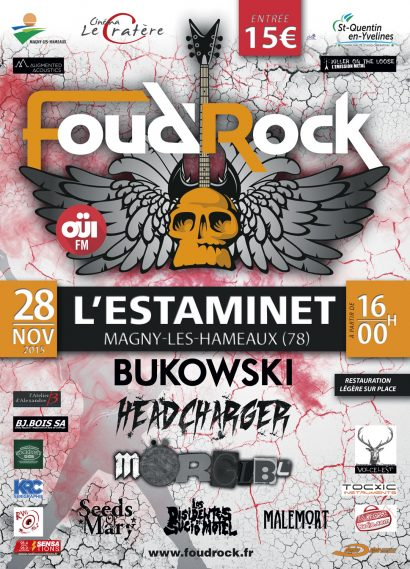 Affiche Foudrock