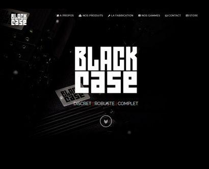 Site web BLACK CASE