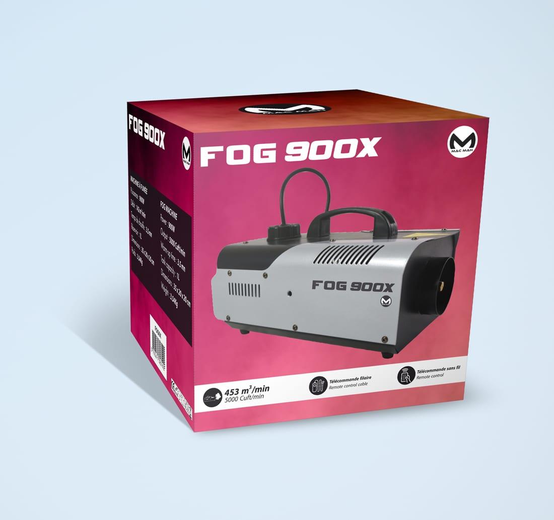 Packaging  machine à fumée FOG900X (MAC MAH)