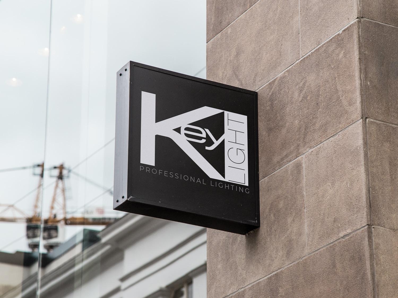 Création du logo K-LIGHT (Illustrator, Photoshop)