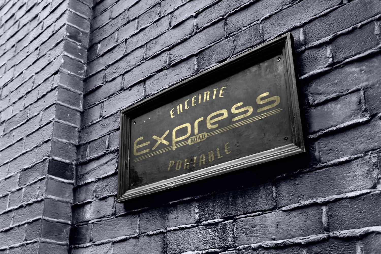 Création du logo Express Road (Illustrator, Photoshop)